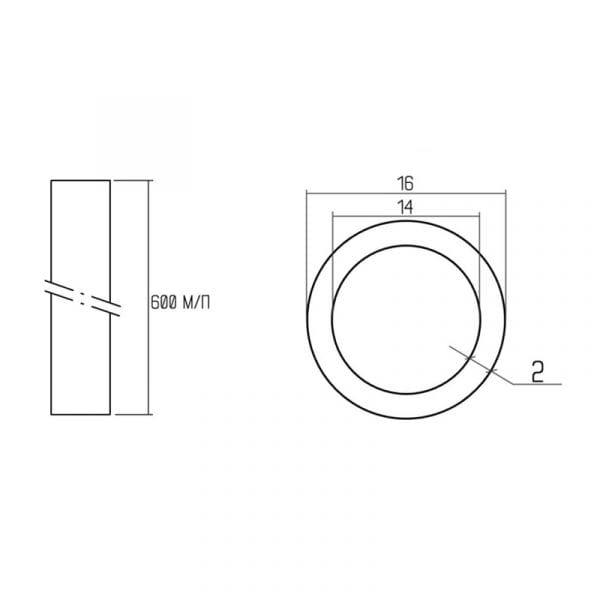 Труба Icma ICMAFLOOR PEX-A 16мм